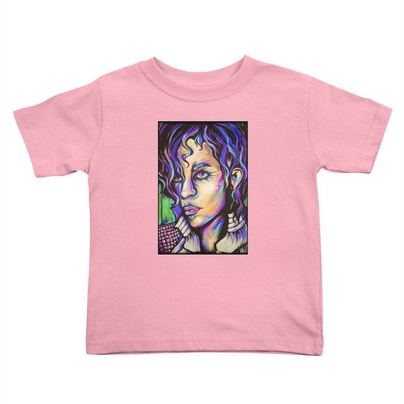 Prince Kids Toddler T-Shirt by amybelonio's Artist Shop