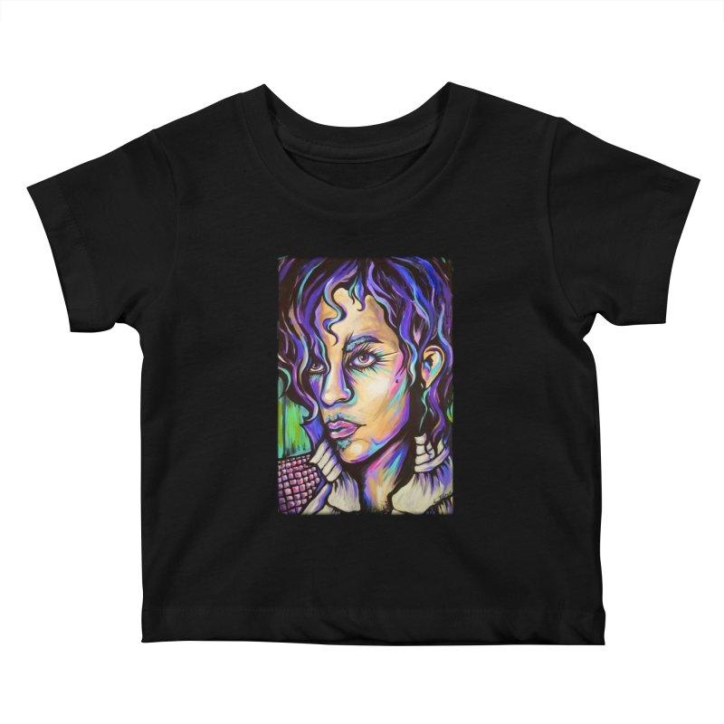 Prince Kids Baby T-Shirt by amybelonio's Artist Shop