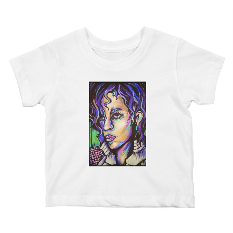 Prince Kids Baby T-Shirt by amybelonio's Artist Shop