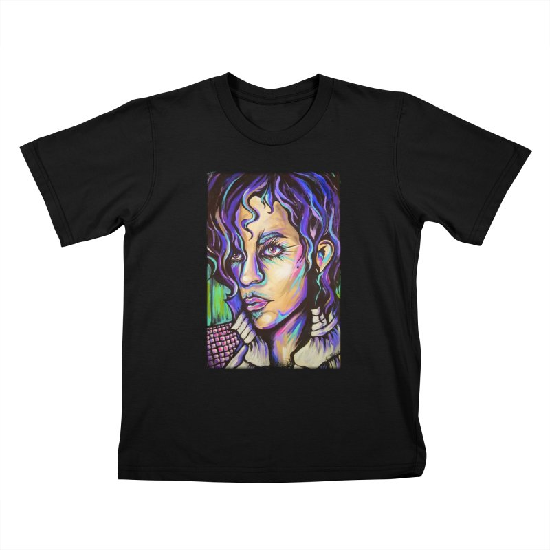 Prince Kids T-Shirt by amybelonio's Artist Shop