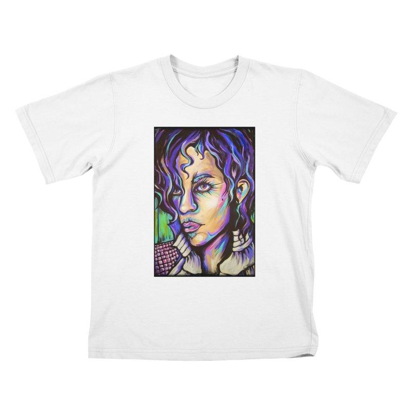 Prince Kids T-Shirt by amybelonio's Artist Shop