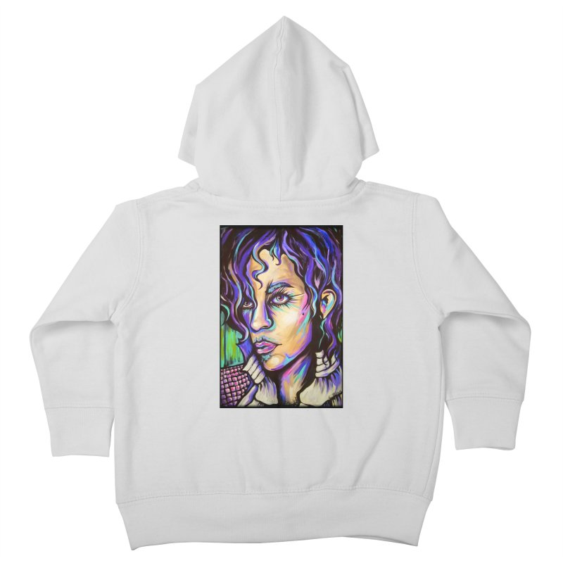 Prince Kids Toddler Zip-Up Hoody by amybelonio's Artist Shop