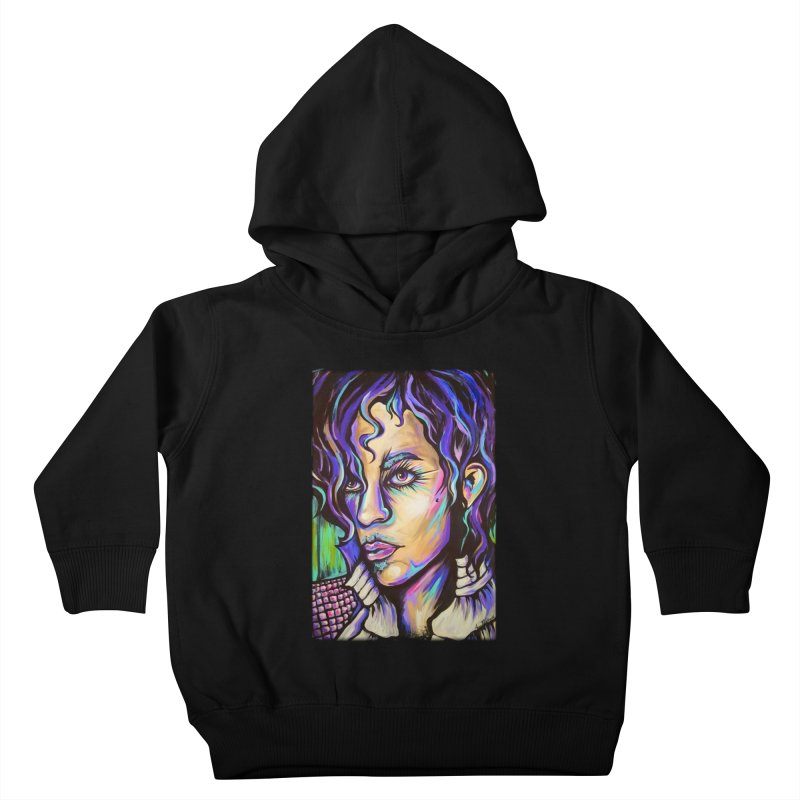 Prince Kids Toddler Pullover Hoody by amybelonio's Artist Shop