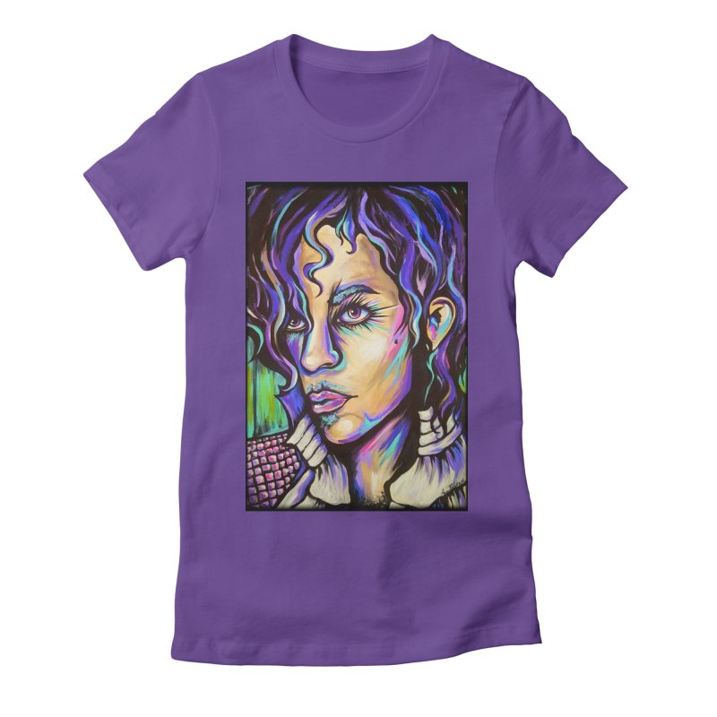 Prince Women's T-Shirt by amybelonio's Artist Shop