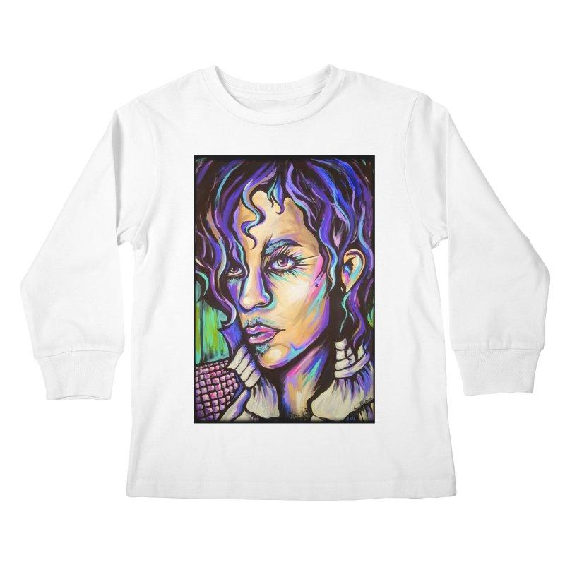 Prince Kids Longsleeve T-Shirt by amybelonio's Artist Shop