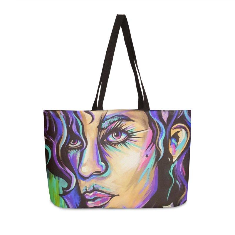 Prince Accessories Weekender Bag Bag by amybelonio's Artist Shop
