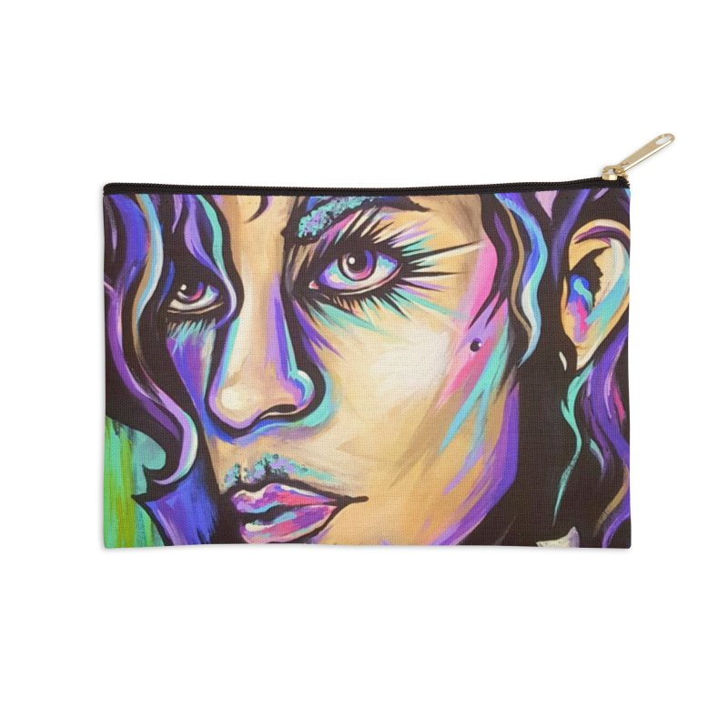 Prince Accessories Zip Pouch by amybelonio's Artist Shop