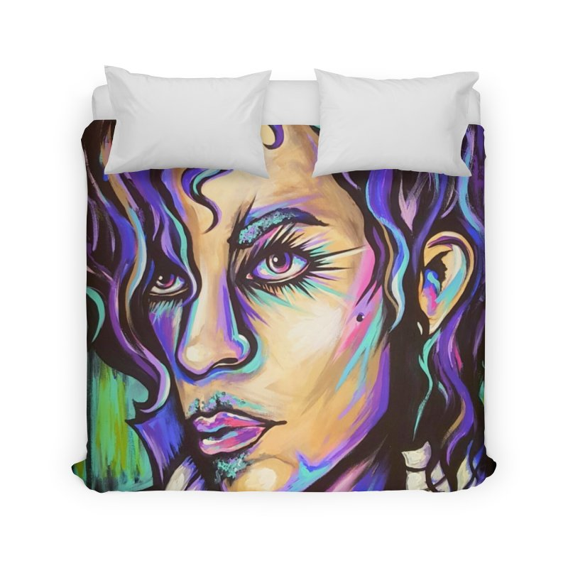 Prince Home Duvet by amybelonio's Artist Shop