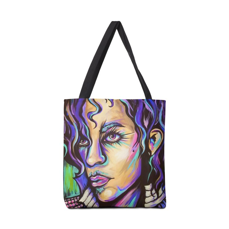 Prince Accessories Tote Bag Bag by amybelonio's Artist Shop