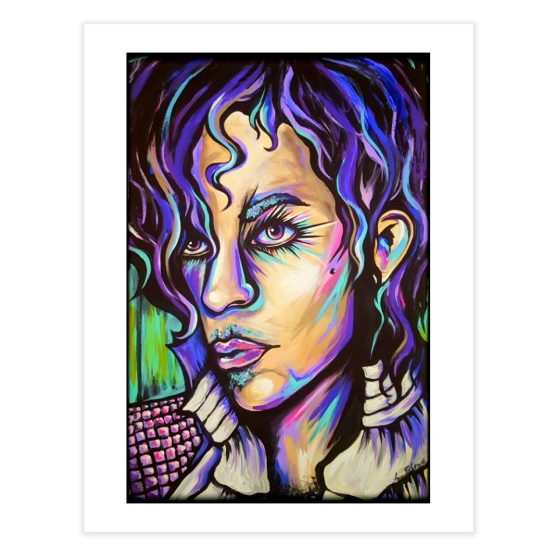 Prince Home Fine Art Print by amybelonio's Artist Shop