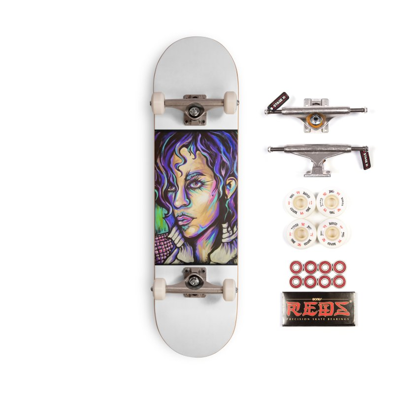 Prince Accessories Complete - Pro Skateboard by amybelonio's Artist Shop