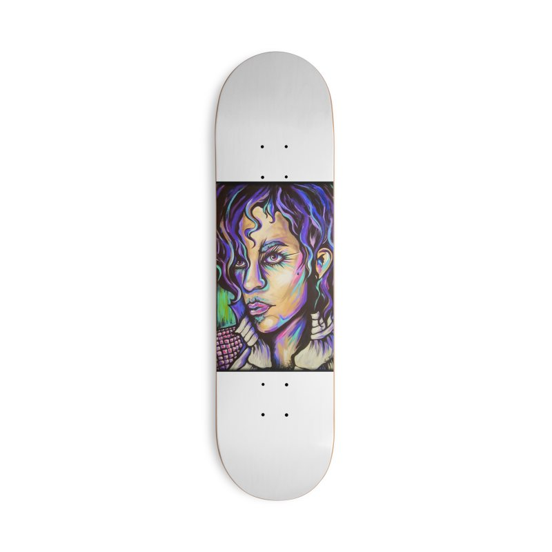 Prince Accessories Deck Only Skateboard by amybelonio's Artist Shop