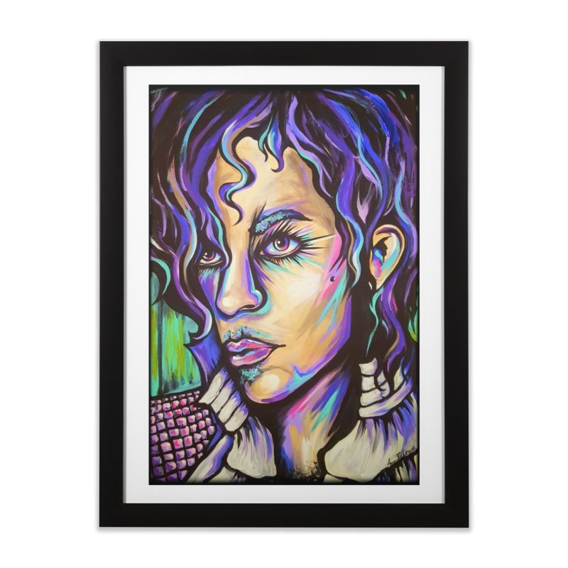 Prince Home Framed Fine Art Print by amybelonio's Artist Shop