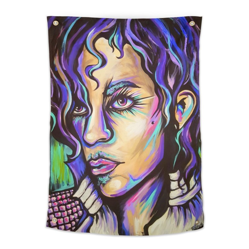 Prince Home Tapestry by amybelonio's Artist Shop