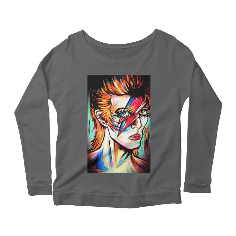 Ziggy Stardust Bowie Women's Longsleeve T-Shirt by amybelonio's Artist Shop