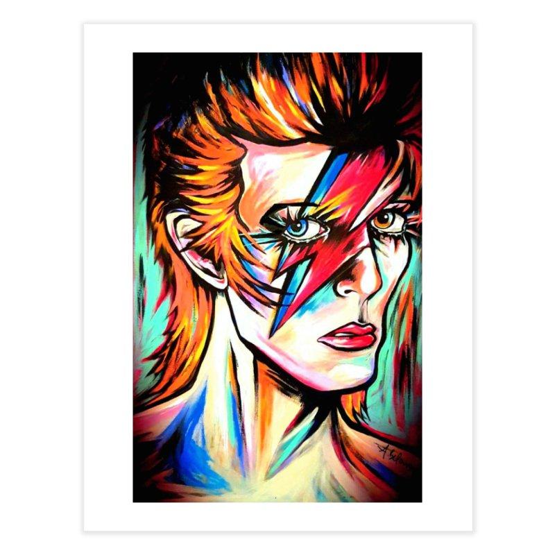 Ziggy Stardust Bowie Home Fine Art Print by amybelonio's Artist Shop