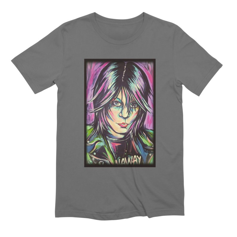 Joan Jett Men's T-Shirt by amybelonio's Artist Shop