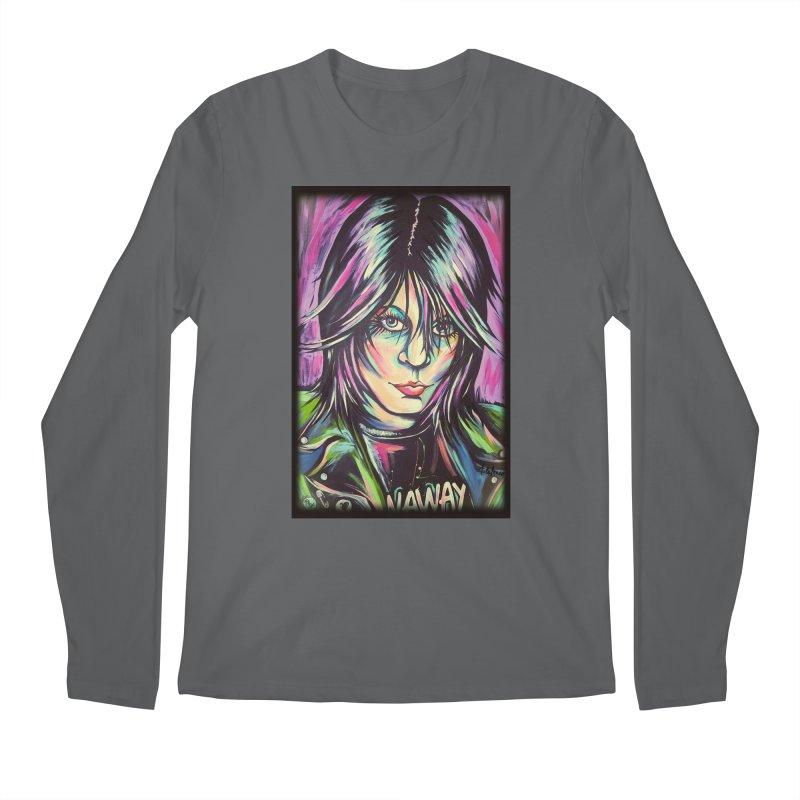 Joan Jett Men's Longsleeve T-Shirt by amybelonio's Artist Shop