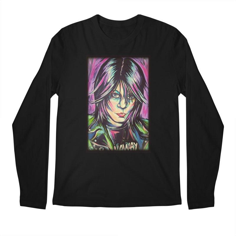 Joan Jett Men's Regular Longsleeve T-Shirt by amybelonio's Artist Shop