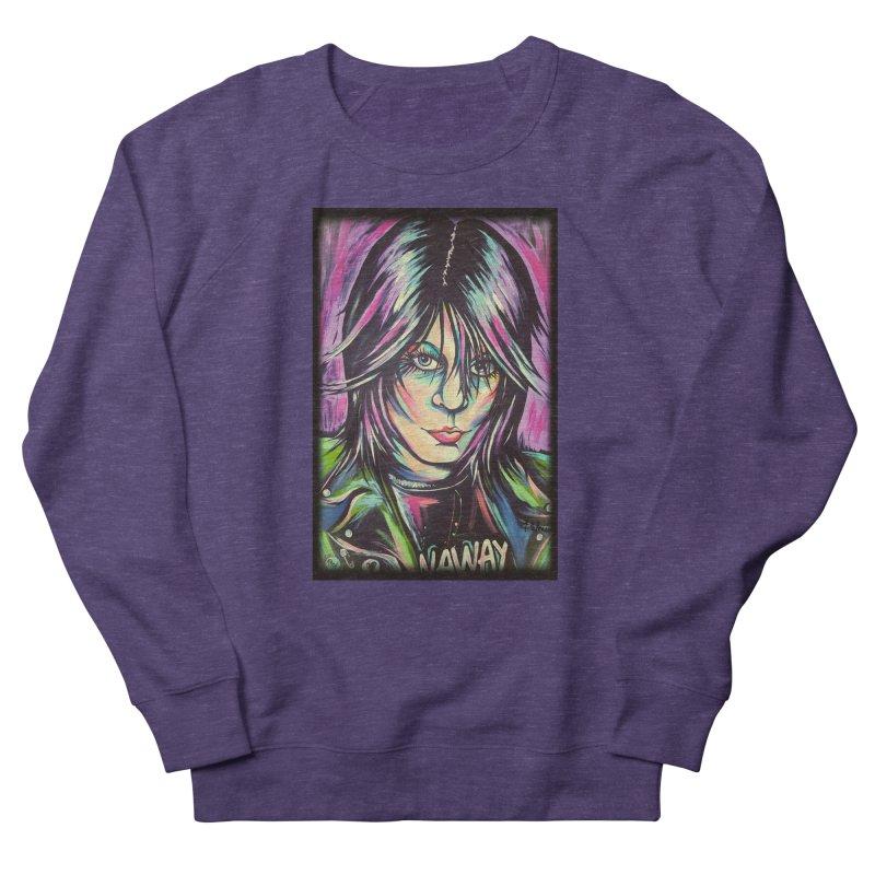 Joan Jett Women's French Terry Sweatshirt by amybelonio's Artist Shop