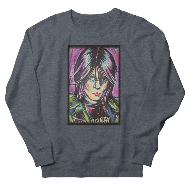 Joan Jett Men's French Terry Sweatshirt by amybelonio's Artist Shop