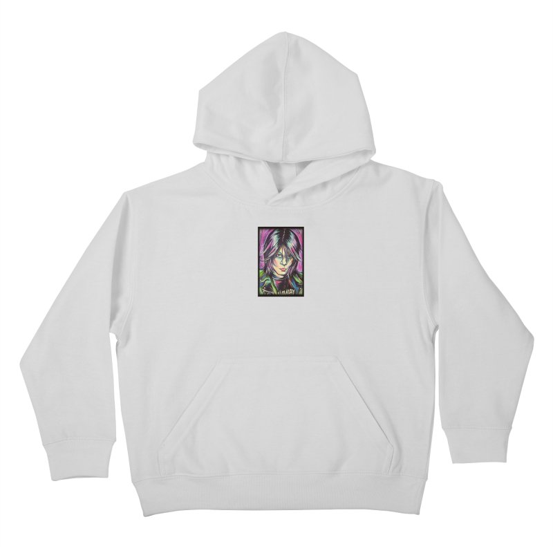 Joan Jett Kids Pullover Hoody by amybelonio's Artist Shop