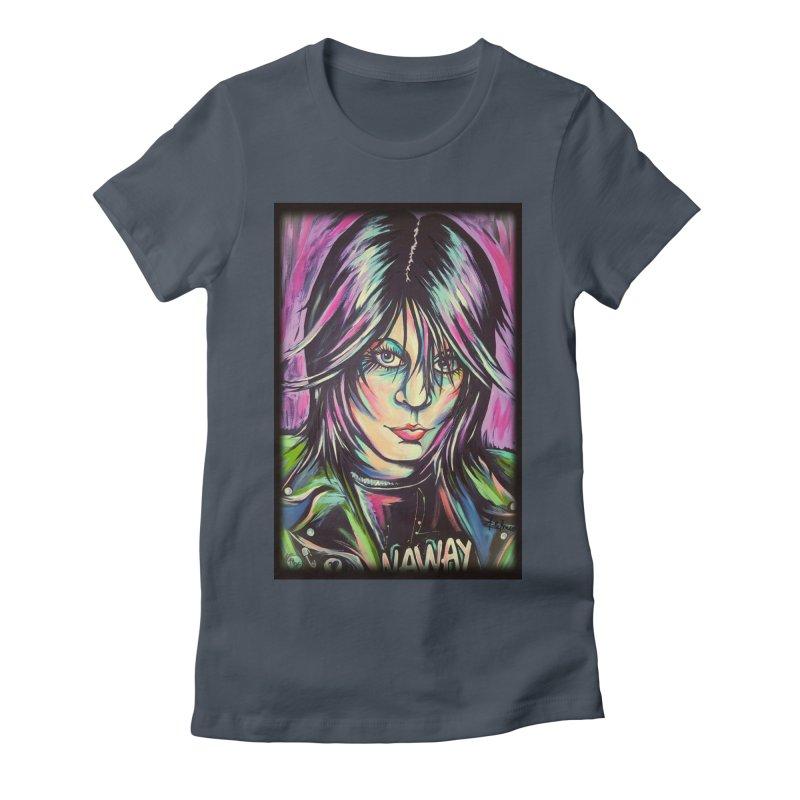 Joan Jett Women's T-Shirt by amybelonio's Artist Shop