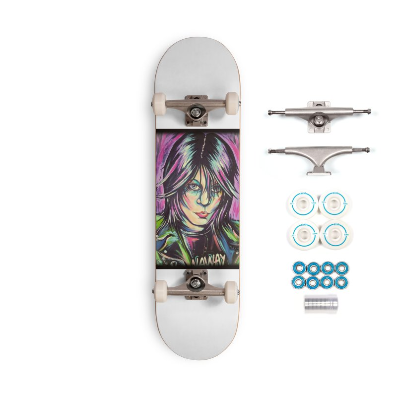 Joan Jett Accessories Complete - Basic Skateboard by amybelonio's Artist Shop