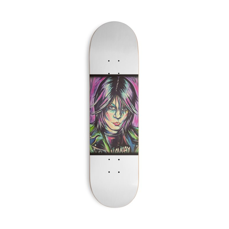 Joan Jett Accessories Deck Only Skateboard by amybelonio's Artist Shop