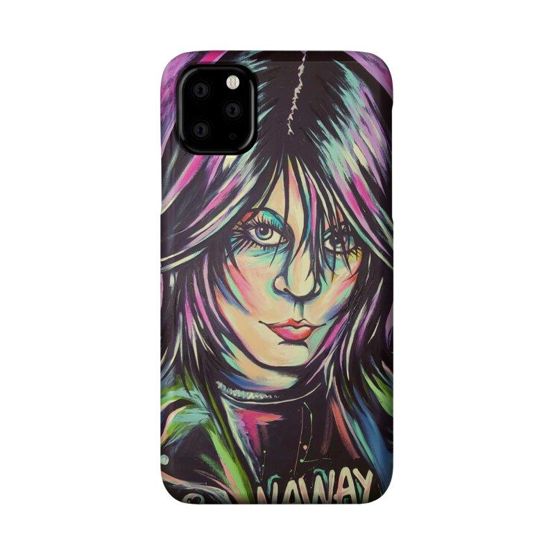 Joan Jett Accessories Phone Case by amybelonio's Artist Shop