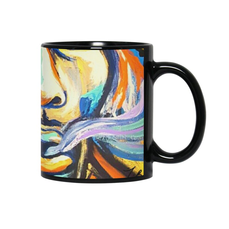 Jimi Hendrix Accessories Mug by amybelonio's Artist Shop