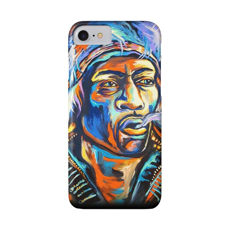 Jimi Hendrix Accessories Phone Case by amybelonio's Artist Shop