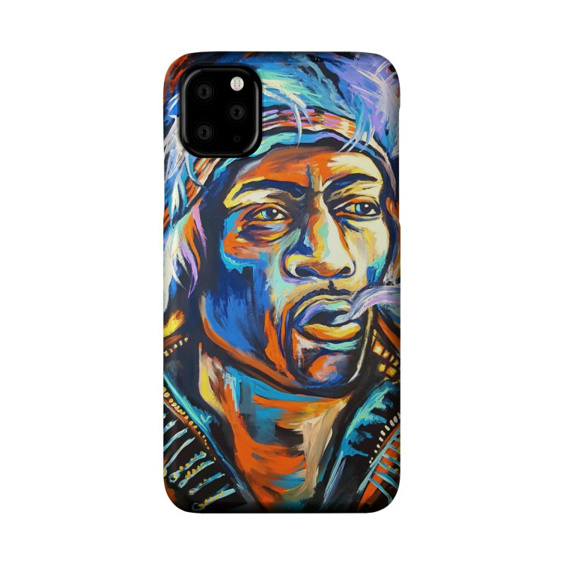 Jimi Hendrix Accessories Phone Case by amybelonio's Artist Shop