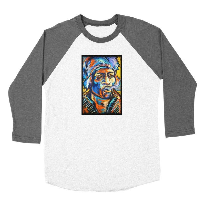 Jimi Hendrix Women's Longsleeve T-Shirt by amybelonio's Artist Shop