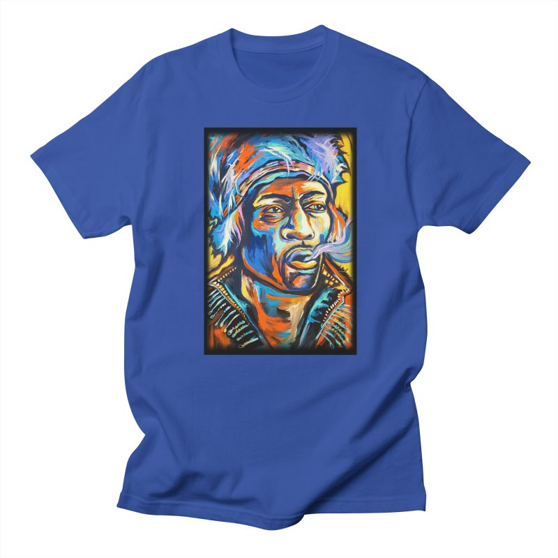 Jimi Hendrix Women's Regular Unisex T-Shirt by amybelonio's Artist Shop