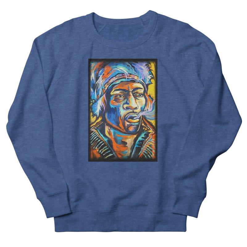 Jimi Hendrix Men's Sweatshirt by amybelonio's Artist Shop