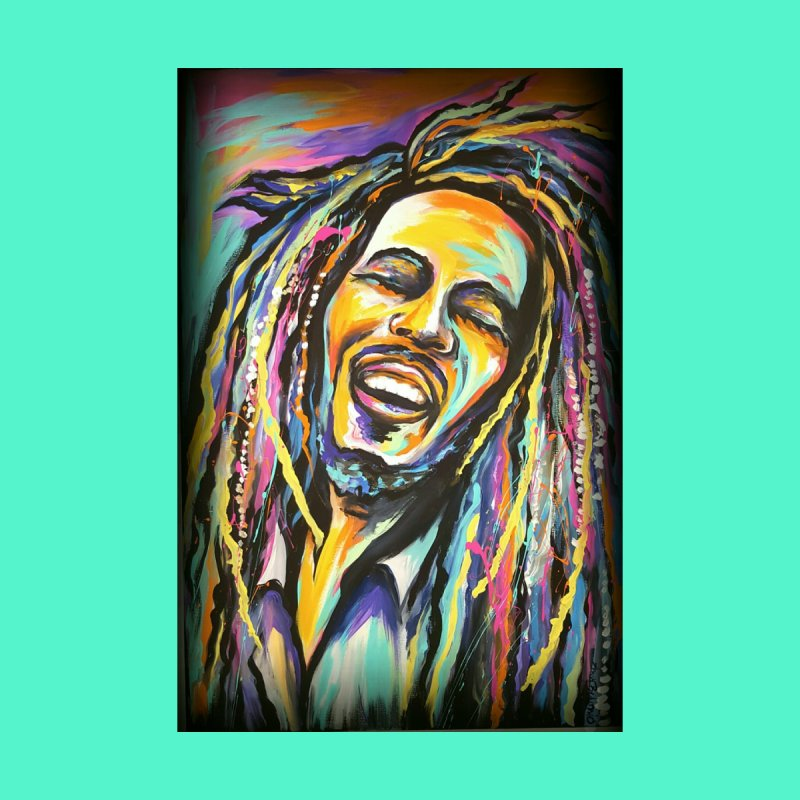 Bob Marley Home Framed Fine Art Print by amybelonio's Artist Shop