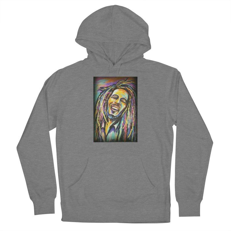 Bob Marley Women's Pullover Hoody by amybelonio's Artist Shop