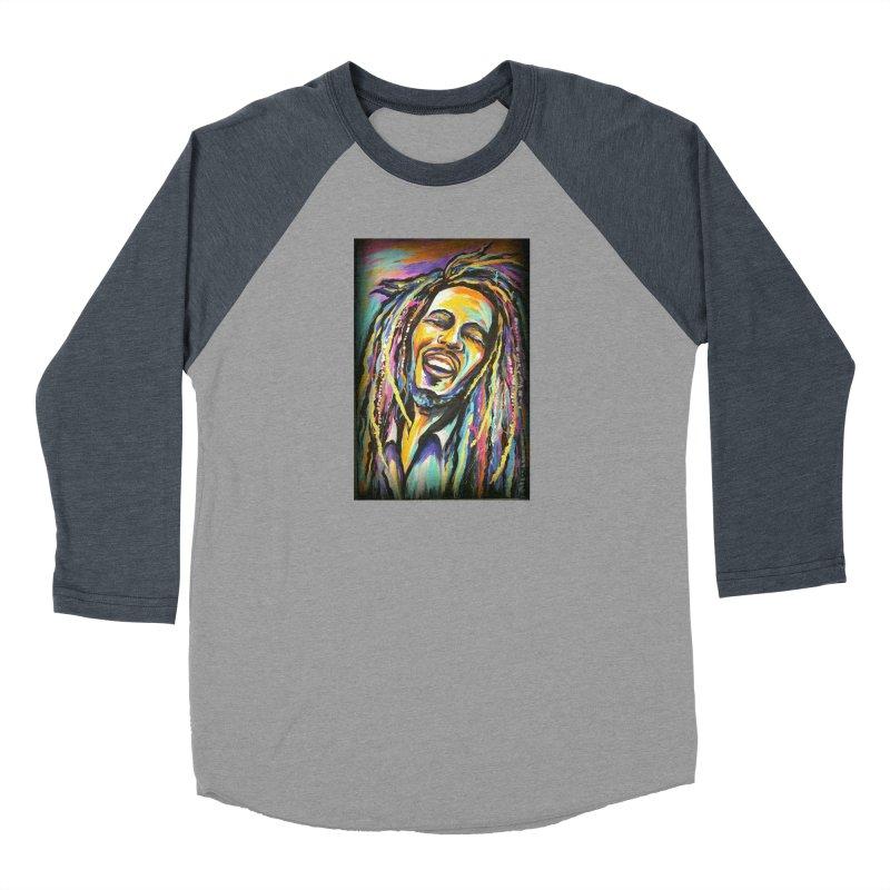Bob Marley Women's Longsleeve T-Shirt by amybelonio's Artist Shop