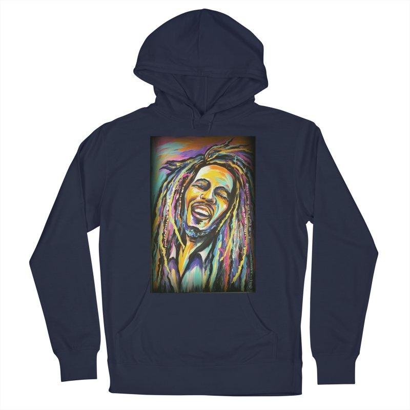 Bob Marley Men's Pullover Hoody by amybelonio's Artist Shop