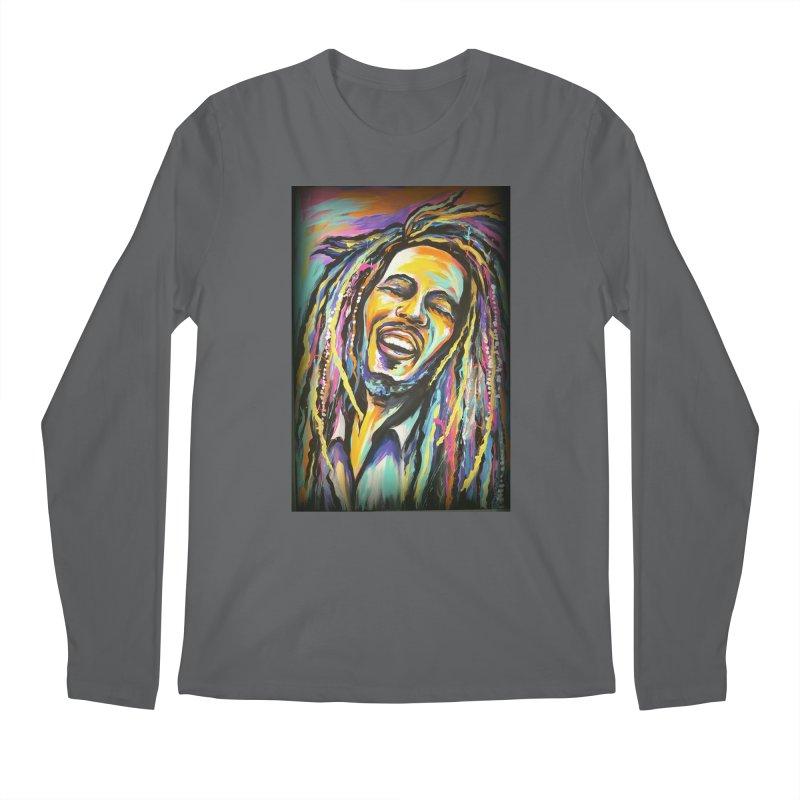 Bob Marley Men's Longsleeve T-Shirt by amybelonio's Artist Shop