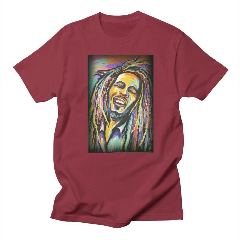 Bob Marley Women's Regular Unisex T-Shirt by amybelonio's Artist Shop