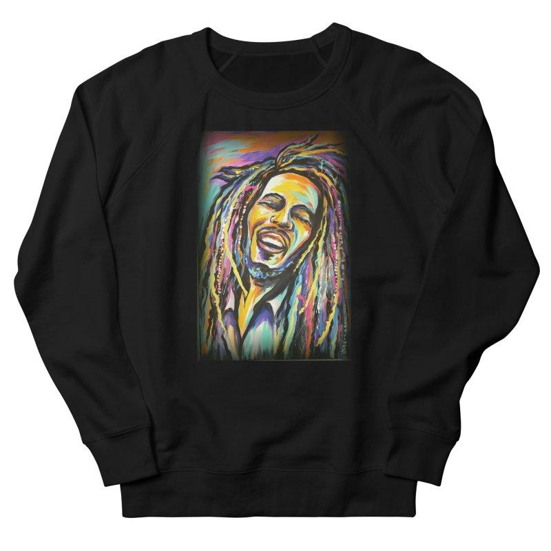 Bob Marley Women's French Terry Sweatshirt by amybelonio's Artist Shop