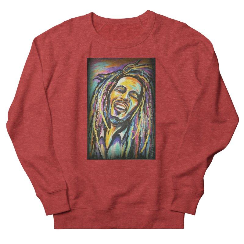Bob Marley Men's French Terry Sweatshirt by amybelonio's Artist Shop