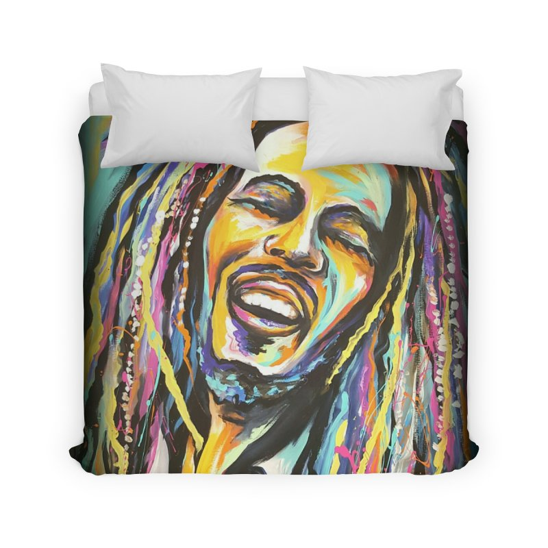 Bob Marley Home Duvet by amybelonio's Artist Shop
