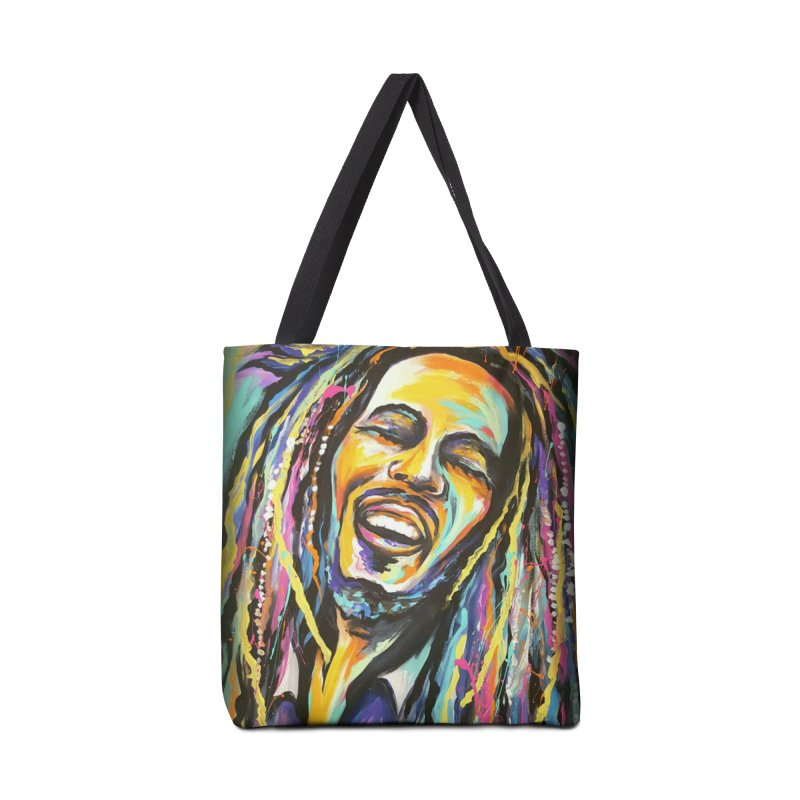 Bob Marley Accessories Tote Bag Bag by amybelonio's Artist Shop
