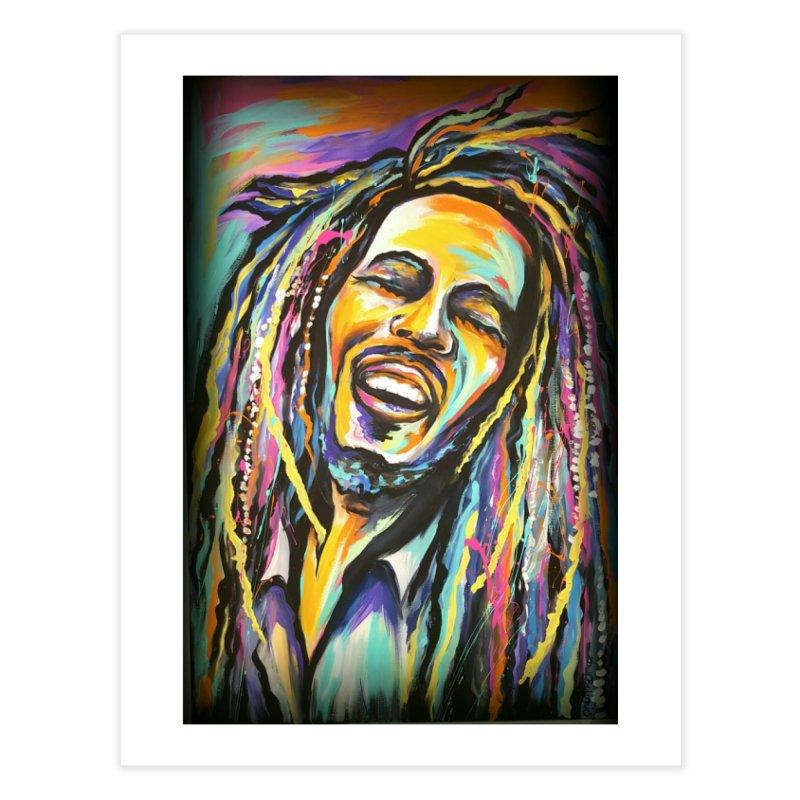 Bob Marley Home Fine Art Print by amybelonio's Artist Shop