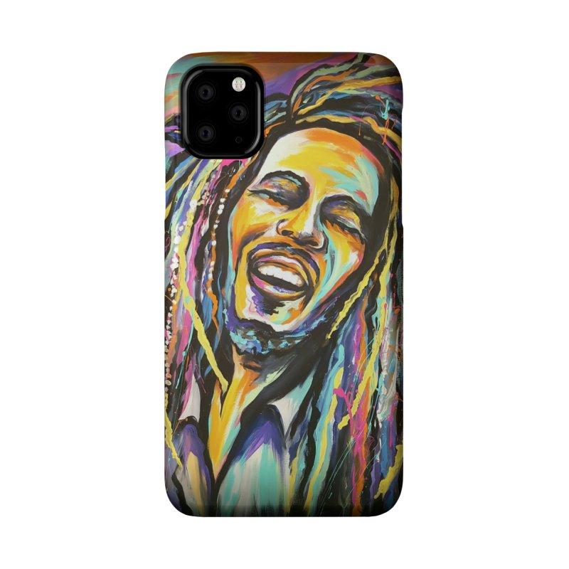 Bob Marley Accessories Phone Case by amybelonio's Artist Shop