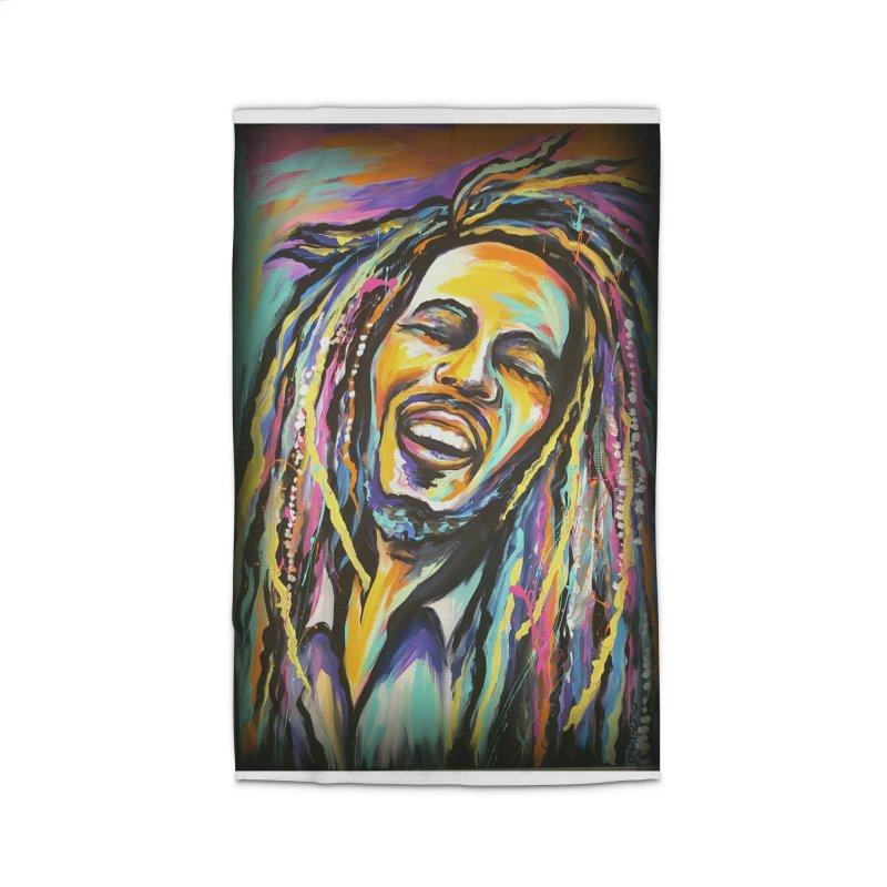 Bob Marley Home Rug by amybelonio's Artist Shop
