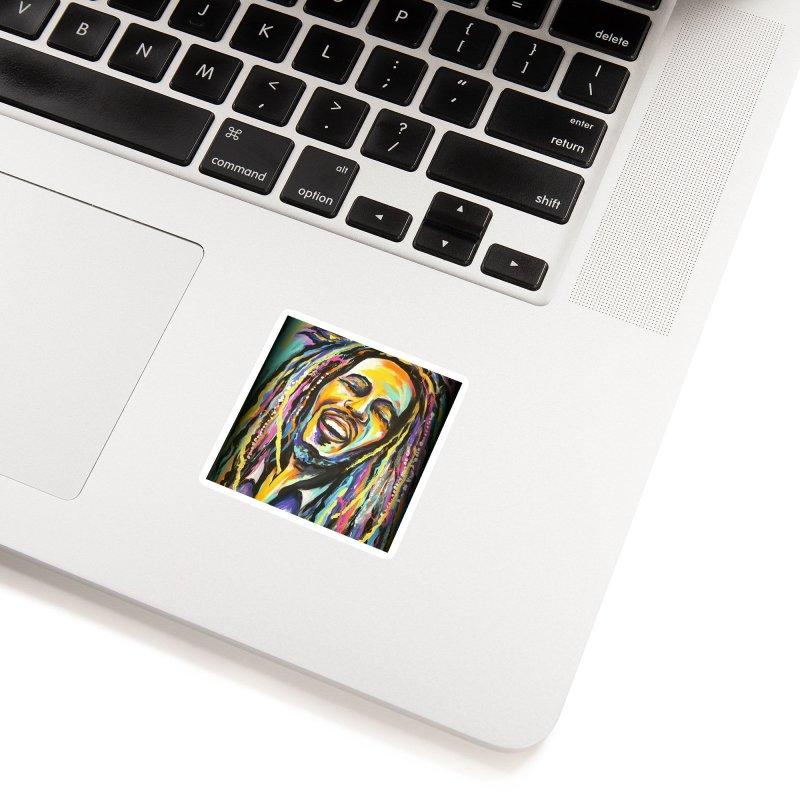 Bob Marley Accessories Sticker by amybelonio's Artist Shop